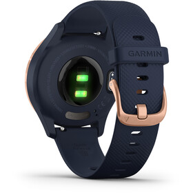 Garmin Vivomove 3S Montre connectée, blue/rose gold